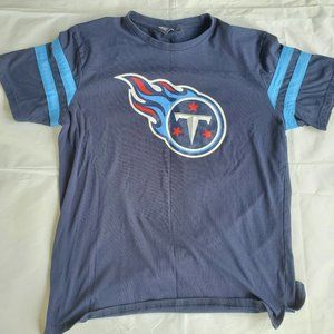NFL Tennessee Titans Large Navy Short Sleeve Shirt